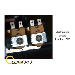 Électrovanne double EV1 - EV2